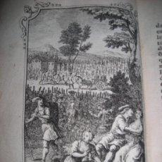 Libros de segunda mano: AMOURS DE DAPHNIS ET CHLOÉ, 1750. CONTIENE 8 GRABADOS.. Lote 33209341