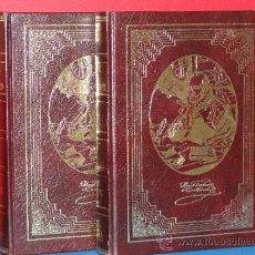 Libros de segunda mano: EL INGENIOSO HIDALGO DON QUIJOTE DE LA MANCHA (2 TOMOS) .-CERVANTES. Lote 33332437