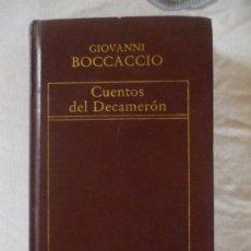 Libros de segunda mano: CUENTOS DEL DECAMERÓN, DE GIOVANNI BOCACCIO. ORBIS, 1983. Lote 33357847