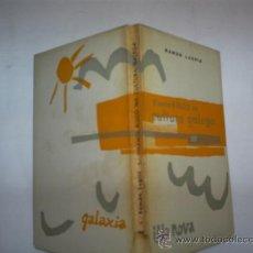 Libros de segunda mano: VICENTE RISCO NA CULTURA GALEGA RAMÓN LUGRÍS GALICIA GALAXIA ILLA NOVA 7 1963 RM59043-V. Lote 33428546