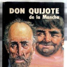 Libros de segunda mano: DON QUIJOTE DE LA MANCHA - MIGUEL DE CERVANTES - INTERIOR IMPECABLE.. Lote 33369677