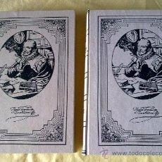 Libros de segunda mano: DON QUIJOTE DE LA MANCHA (2 TOMOS). Lote 33500908