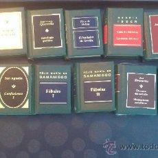 Libros de segunda mano: GRANDES OBRAS DE LA LITERATURA UNIVERSAL EN MINIATURA/PLANETA DEAGOSTINI(EDICCION DE LUJO). Lote 33545189