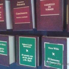 Libros de segunda mano: GRANDES OBRAS DE LA LITERATURA UNIVERSAL EN MINIATURA/PLANETA DEAGOSTINI(EDICCION DE LUJO). Lote 173670030