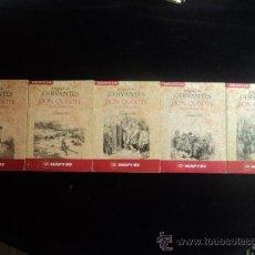 Libros de segunda mano: DON QUIJOTE DE LA MANCHA. CERVANTES. 5 VOL. 1991 . Lote 33598453