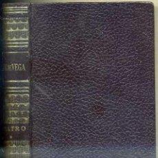 Libros de segunda mano: OBRAS ESTELARES MAUCCI : LOPE DE VEGA - TEATRO (1965) PLENA PIEL . Lote 33996050