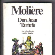 Libros de segunda mano: DON JUAN. TARTUFO. MOLIÈRE. PLANETA 1988. . Lote 34249237