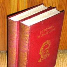 Libros de segunda mano: EL VIZCONDE DE BRAGELONNE POR ALEJANDRO DUMAS DE J. PÉREZ DEL HOYO EDITOR EN MADRID 1970. Lote 34940078
