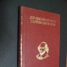 Libros de segunda mano: SHAKESPEARE - EDITORIAL J. PÉREZ DEL HOYO 1968. Lote 34994915