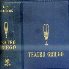 Libros de segunda mano: LOS CLÁSICOS EDAF : TEATRO GRIEGO (1962). Lote 35134234