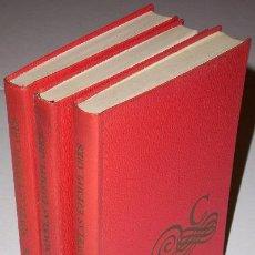 Libros de segunda mano: NOVELAS EJEMPLARES 3T POR MIGUEL DE CERVANTES SAAVEDRA DE CÍRCULO DE LECTORES EN BARCELONA 1965. Lote 35349274