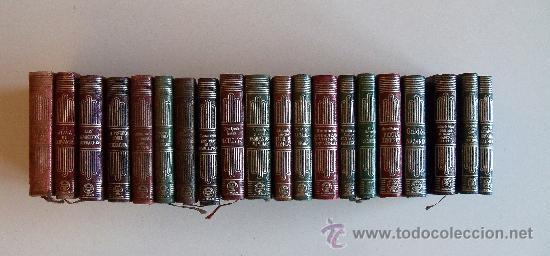 Libros de segunda mano: aguilar colección crisol (crisolin) casi completa 77 libros miniatura (muy difícil de encontrar) - Foto 2 - 35397970