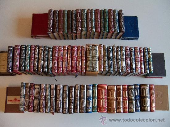 Libros de segunda mano: aguilar colección crisol (crisolin) casi completa 77 libros miniatura (muy difícil de encontrar) - Foto 7 - 35397970