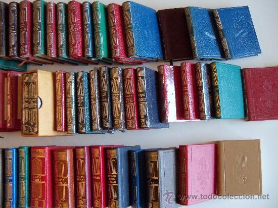 Libros de segunda mano: aguilar colección crisol (crisolin) casi completa 77 libros miniatura (muy difícil de encontrar) - Foto 8 - 35397970