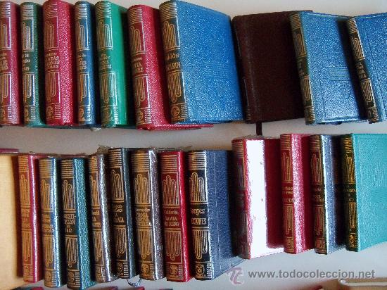 Libros de segunda mano: aguilar colección crisol (crisolin) casi completa 77 libros miniatura (muy difícil de encontrar) - Foto 9 - 35397970