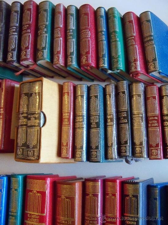 Libros de segunda mano: aguilar colección crisol (crisolin) casi completa 77 libros miniatura (muy difícil de encontrar) - Foto 10 - 35397970