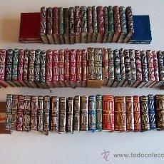 Libros de segunda mano: AGUILAR COLECCIÓN CRISOL (CRISOLIN) CASI COMPLETA 77 LIBROS MINIATURA (MUY DIFÍCIL DE ENCONTRAR). Lote 35397970