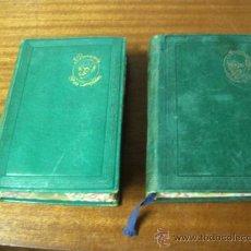 Libros de segunda mano: JACINTO BENAVENTE / OBRAS COMPLETAS / TOMOS I Y II / AGUILAR 1945. Lote 35651281