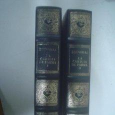 Libros de segunda mano: STENDHAL: LA CARTUJA DE PARMA. 2 VOLS.. Lote 35926608