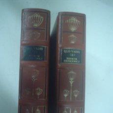 Libros de segunda mano: HENRYK SIENKIEWICZ: QUO VADIS 2 VOLS.. Lote 35927261