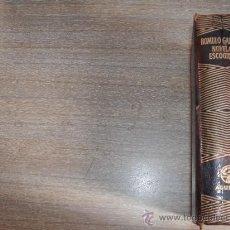 Libros de segunda mano: ROMULO GALLEGOS - NOVELAS ESCOGIDAS - AGUILAR -. Lote 35956363