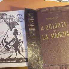Libros de segunda mano: EL QUIJOTE DE LA MANCHA COLECCION COMPLETA 22 FASCICULOS CON TAPAS PARA ENCUADERNAR ED. SEGUI (COB77. Lote 35965640