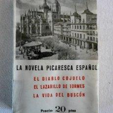 Libros de segunda mano: LA NOVELA PICARESCA ESPAÑOLA. Lote 36378924