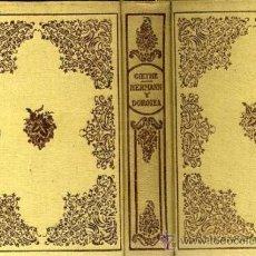 Libros de segunda mano: GOETHE : HERMANN Y DOROTEA (MONTANER Y SIMÓN, 1941). Lote 36561395