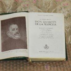 Libros de segunda mano: 2908-EL INGENIOSO HIDALGO SON QUIJOTE DE LA MANCHA. M. CERVANTES. EDIC. CASTILLA. 1947.. Lote 36603438