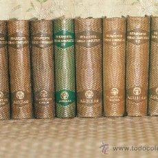 Libros de segunda mano: 2972- JACINTO BENAVENTE. OBRAS COMPLETAS. EDIT AGUILAR. 1945/1947. 8 VOL.. Lote 48977920