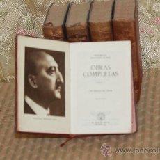 Libros de segunda mano: 2977- WENCESLAO FERNANDEZ FLOREZ OBRAS COMPLETAS. EDIT AGUILAR. 2ª EDICION. 1946/1947. 5 TOMOS. Lote 36781305