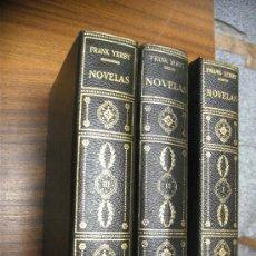 Libros de segunda mano: FRANK YERBY / NOVELAS / COMPLETA 3 TOMOS / EDITORIAL PLANETA. Lote 36810847