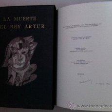 Libros de segunda mano: LA MUERTE DEL REY ARTUR (MADRID, EL CONDE DE SIRUELA, 1980) - NÚMERO 4!!. Lote 37013532