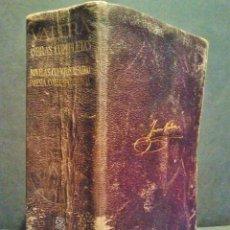 Libros de segunda mano: JUAN VARELA. OBRAS COMPLETAS. TOMO I. EDITORIAL AGUILAR. 2ª EDICIÓN. MADRID 1942.. Lote 37190859