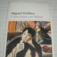 Libros de segunda mano - cinco horas con mario Miguel Delibes Destinolibro - 37351886