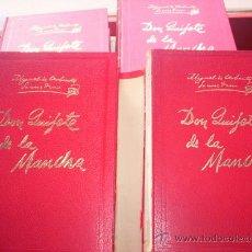 Libros de segunda mano: DON QUIJOTE DE LA MANCHA - 4 TOMOS - COMPLETA - EDICIONES GINER. Lote 37564055