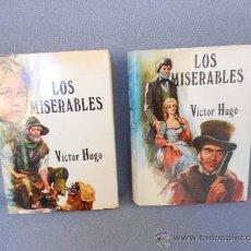 Libros de segunda mano: LOS MISERABLES DE VICTOR HUGO 2 TOMOS. Lote 37675477