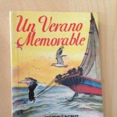 Libros de segunda mano: UN VERANO MEMORABLE. MARIO LACRUZ. PULGA 161. Lote 38029143