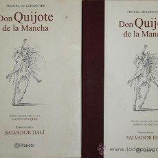 Libros de segunda mano: 3455- DON QUIJOTE DE LA MANCHA. CERVANTES. EDIT. PLANETA 2004. 2 VOL EN UN TOMO.. Lote 38101875