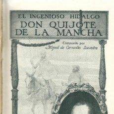 Libros de segunda mano: EL INGENIOSO HIDALGO DON QUIJOTE DE LA MANCHA / COMPUESTO POR MIGUEL DE CERVANTES SAAVEDRA- AÑOS 40?. Lote 38187931