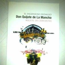 Libros de segunda mano: DON QUIJOTE DE LA MANCHA. CERVANTES (2 TOMOS). Lote 38493981