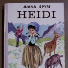 Libros de segunda mano: HEIDI (DE JUANA SPYRI) ED. JUVENTUD (1967) 1ª EDICIÓN! ILUSTRACIONES! TAPA DURA. !. Lote 38569300