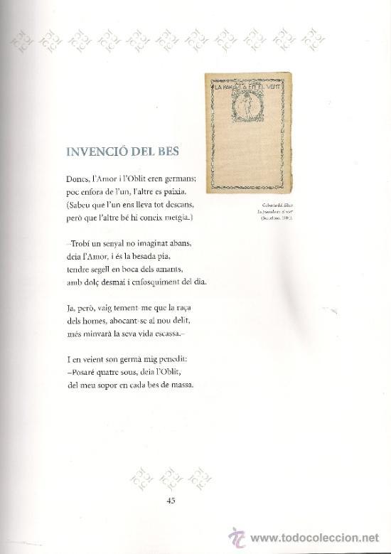 Libros de segunda mano: Josep Carner i Carles Riba. Laventura de dos poetes / Prol. i sel. J. Molas. BCN : Proa, 2003. 2 v. - Foto 5 - 38667567
