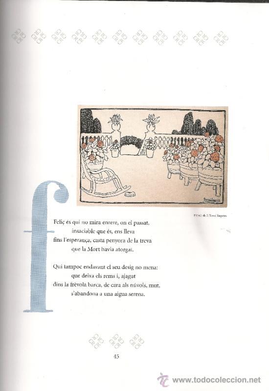 Libros de segunda mano: Josep Carner i Carles Riba. Laventura de dos poetes / Prol. i sel. J. Molas. BCN : Proa, 2003. 2 v. - Foto 7 - 38667567