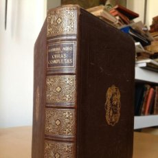 Libros de segunda mano: OBRAS COMPLETAS. GABRIEL MIRO. 1853. BIBLIOTECA NUEVA.. Lote 38719605