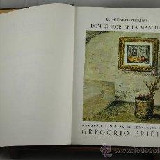 Libros de segunda mano: 3676- EL INGENIOSO HIDALGO DON QUIXOTE DE LA MANCHA. CERVANTES. EDIT. SAURI 1989. 2 TOMOS. . Lote 38934360