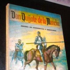 Libros de segunda mano: DON QUIJOTE DE LA MANCHA CERVANTES / SAAVEDRA, MIGUEL DE. Lote 39153952