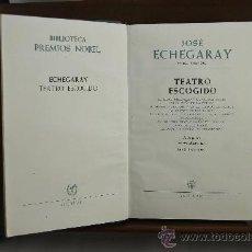 Libros de segunda mano: 3843- JOSE ECHEGARAY. TEATRO ESCOGIDO. EDIT. AGUILAR. 1957. . Lote 39214543