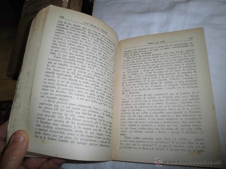 Libros de segunda mano: NUBES DE ESTIO JOSE MARIA PEREDA EDITOR AGUILAR MADRID 1943 OBRAS COMPLETAS TOMO XV - Foto 4 - 39372407