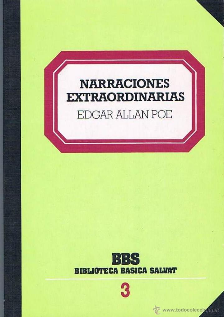NARRACIONES EXTRAORDINARIAS. EDGAR ALLAN POE (Libros de Segunda Mano (posteriores a 1936) - Literatura - Narrativa - Clásicos)